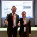 我國駐法國代表處吳志中大使(左)到場支持。